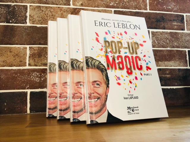 Livre d Eric Leblon Pop Up Magic